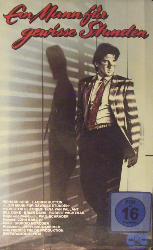 Ein Mann für gewisse Stunden Film | XJUGGLER VHS-Video Shop
