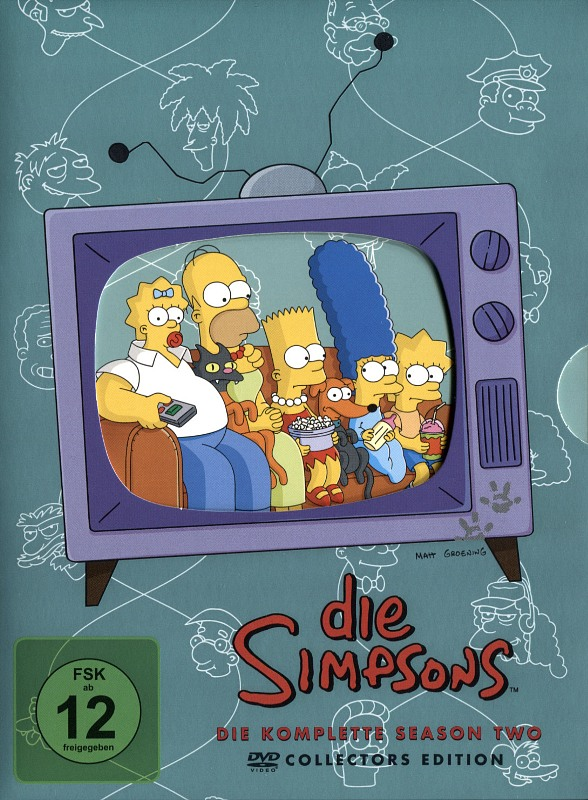 Die Simpsons - Season 02  [CE] [4 DVDs] (Digip.) DVD Bild