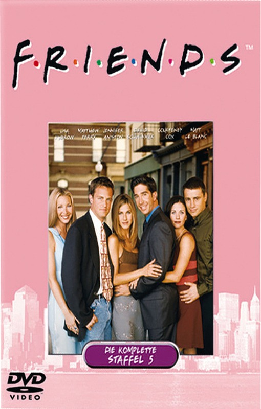 Friends - Box Set / Staffel 5  [4 DVDs] DVD Bild