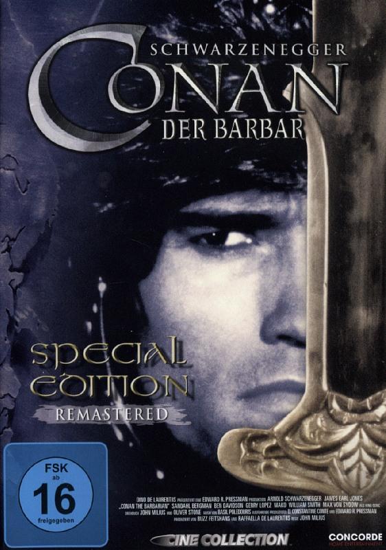 Conan 1 - Der Barbar  [SE] DVD Bild