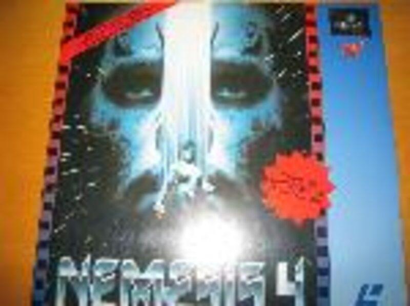 Nemesis 4 - Limitierte Auflage Laserdisc Laserdisk Bild