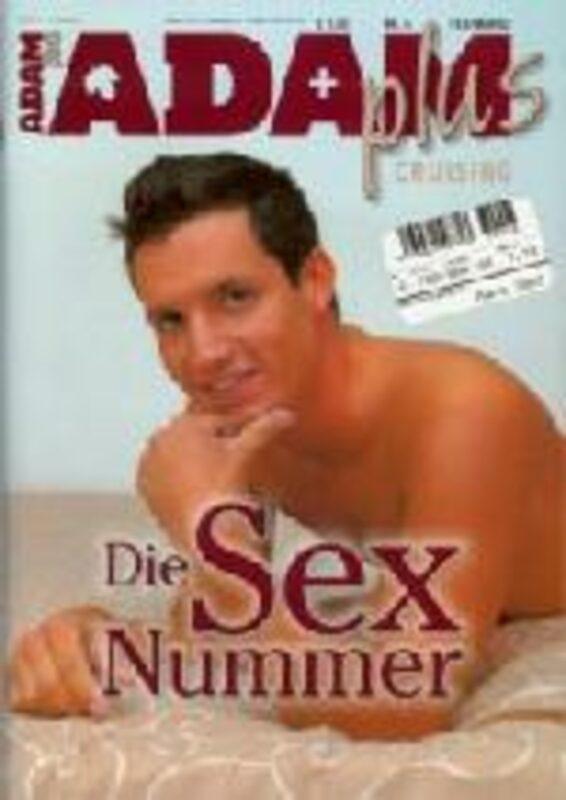 Adam Plus Cruising Febr.März 2003 Gay Buch / Magazin Bild