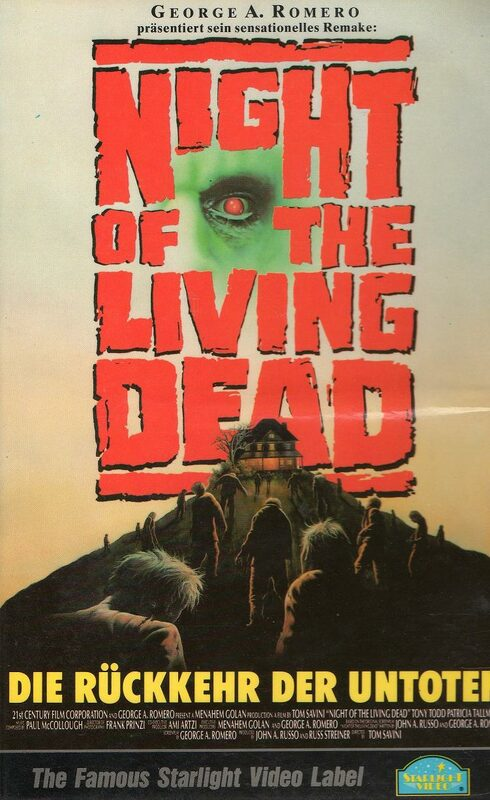 Night Of The Living Dead VHS-Video Bild