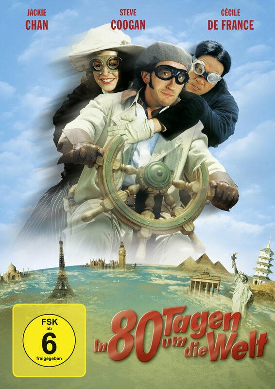 In 80 Tagen um die Welt DVD Bild