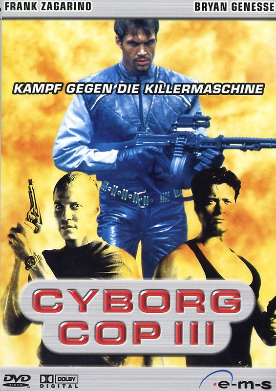 Cyborg Cop 3 DVD Bild
