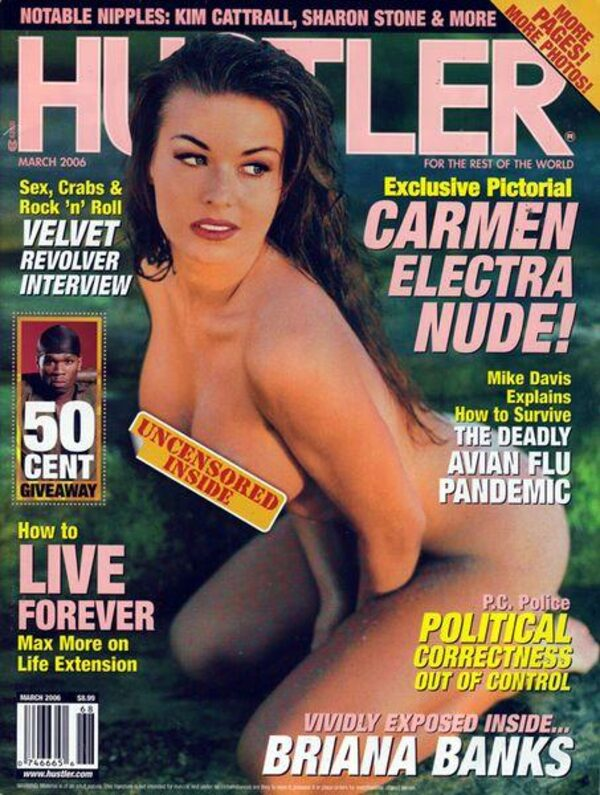 Hustler März 2006 Magazin Bild