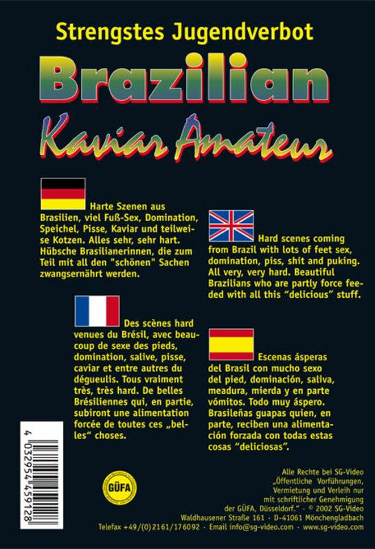 Brazilian Kaviar Amateur Vol. 12 Porno | XJUGGLER DVD Shop