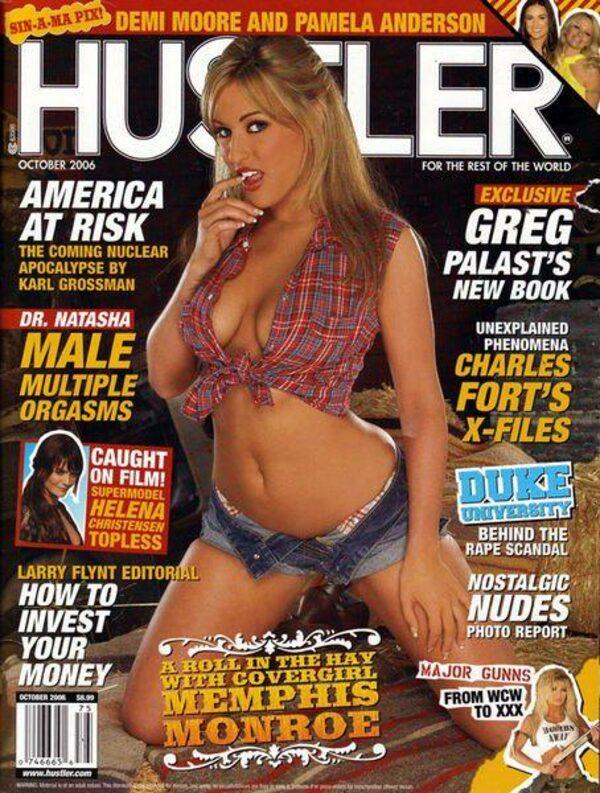 Hustler Oktober 2006 inkl. DVD Magazin Bild