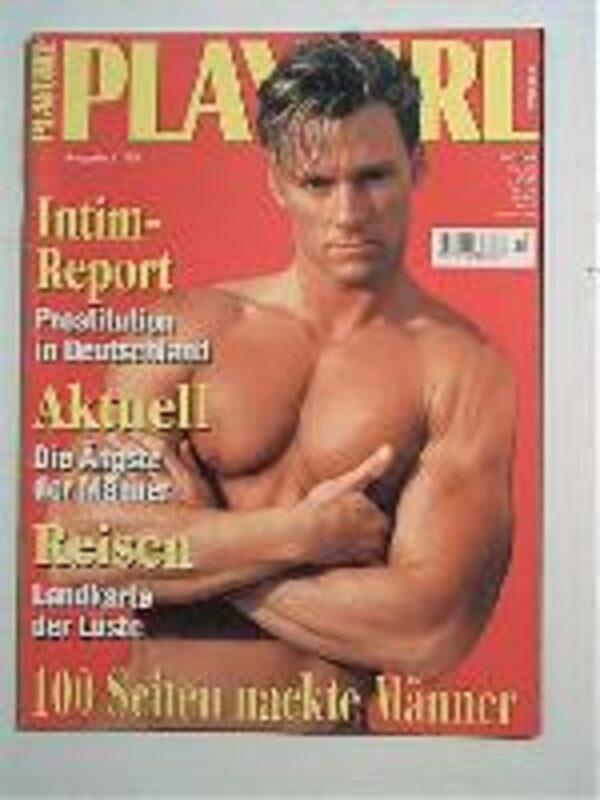 Playgirl 11/1995 Gay Buch / Magazin Bild