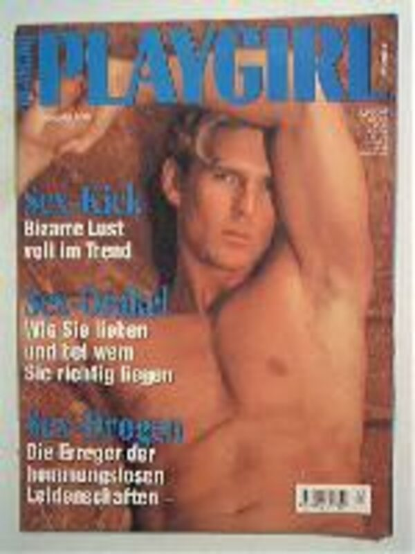 Playgirl 02/1996 Gay Buch / Magazin Bild