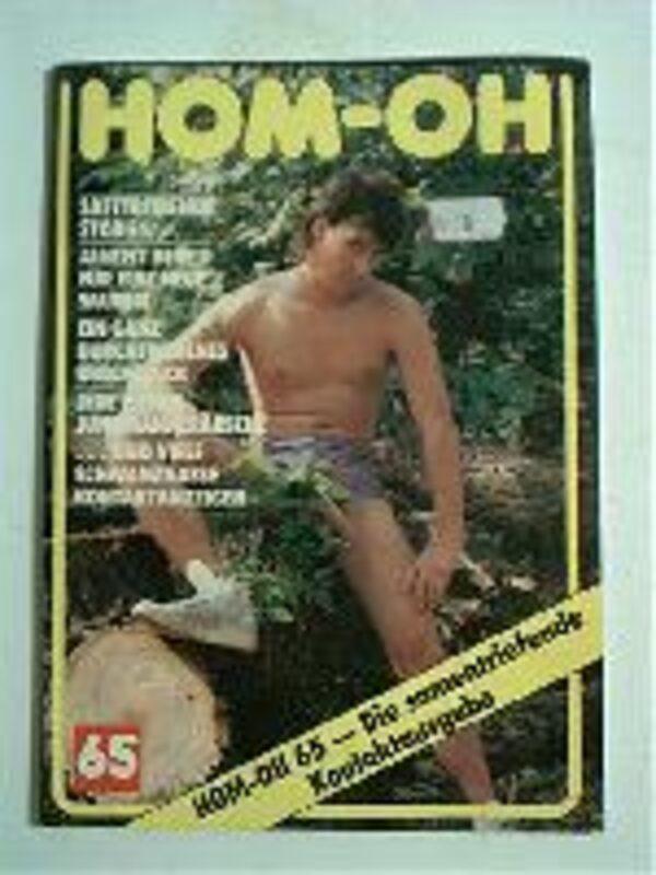 Homoh Nr.65 Gay Buch / Magazin Bild