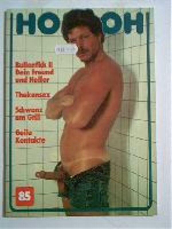Homoh Nr.85 Gay Buch / Magazin Bild