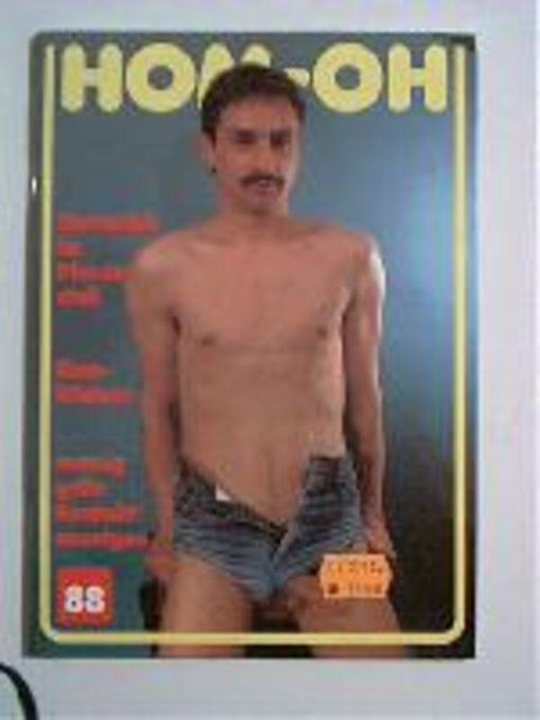 Homoh Nr.88 Gay Buch / Magazin Bild