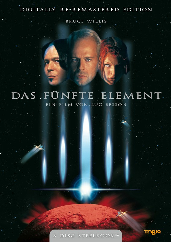 Das fünfte Element  [SB] [3 DVDs] DVD Bild
