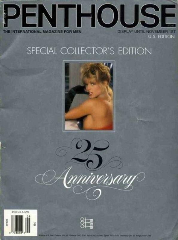 Penthouse - Special Collectors Edition - 25 Anniversary US Magazin Bild