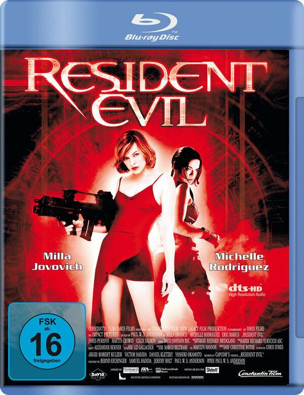 Resident Evil Blu-ray Bild