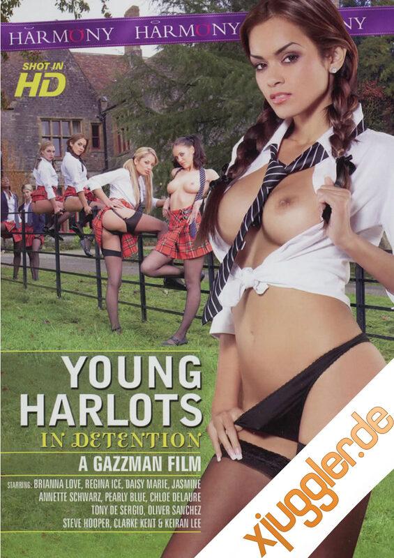 Young Harlots In Detention DVD Bild