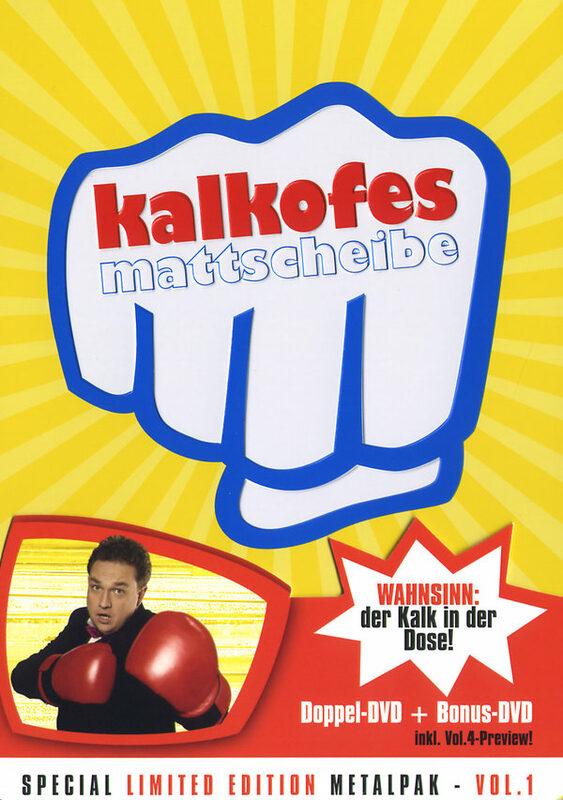 Kalkofes Mattscheibe Vol. 1  [SLE] [MP] [3 DVDs] DVD Bild