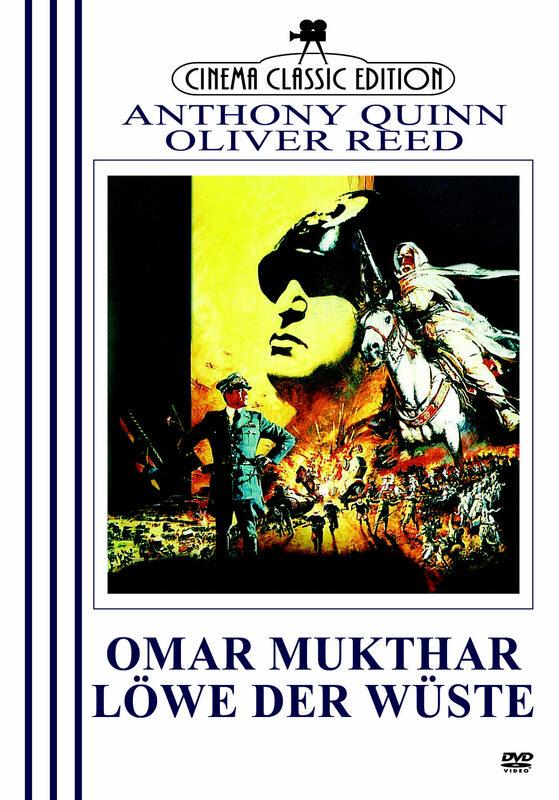 Omar Mukhtar - Löwe der Wüste DVD Bild
