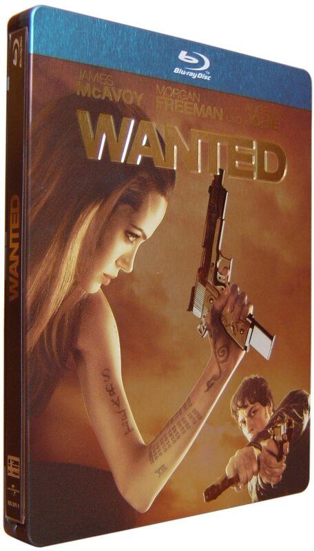 Wanted - Steelbook Blu-ray Bild