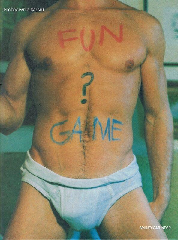 Fun ? Game Gay Buch / Magazin Bild