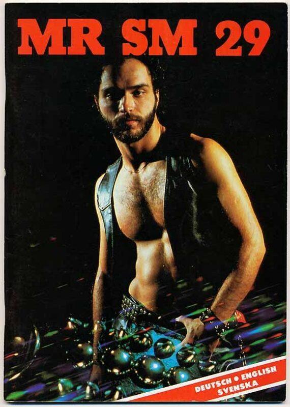 Mr. SM 29 - REVOLT Gay Buch / Magazin Bild