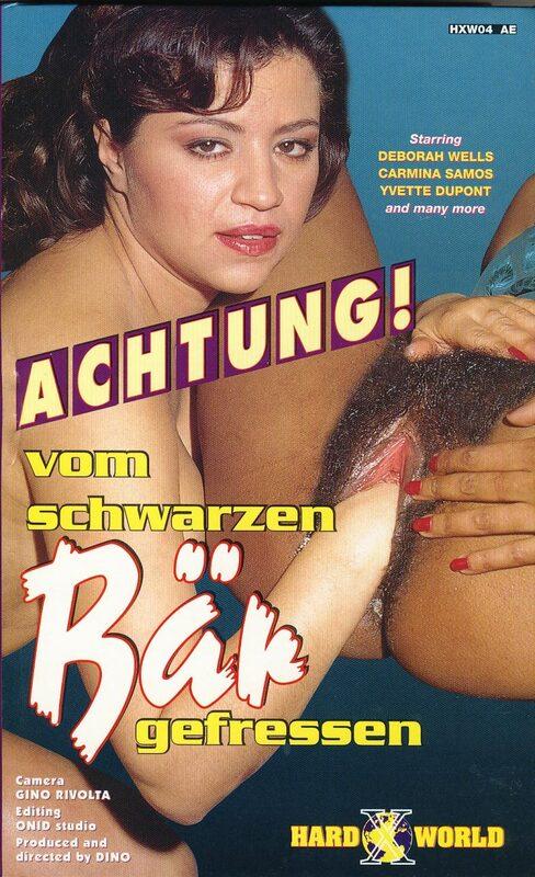 Achtung! Vom schwarzen Bär gefressen VHS-Video Bild
