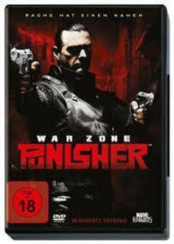 Punisher: War Zone DVD Bild