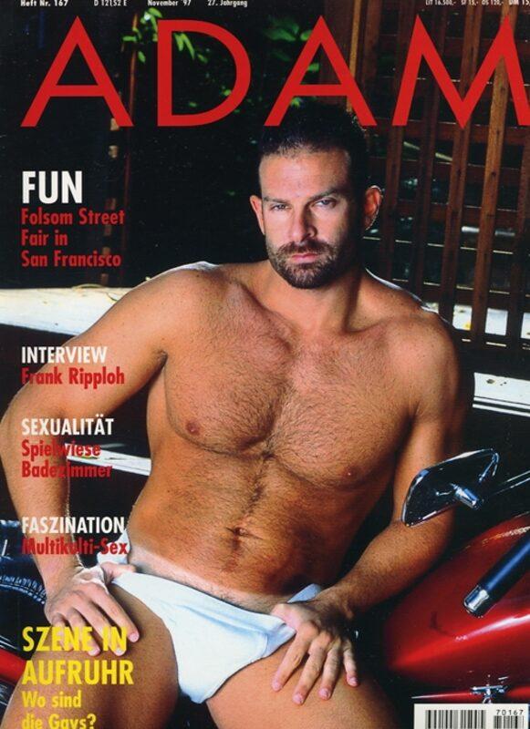 Adam 167 Gay Buch / Magazin Bild