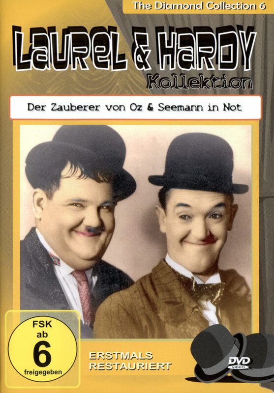 Laurel & Hardy - Der Zauberer.../Seemann in... DVD Bild