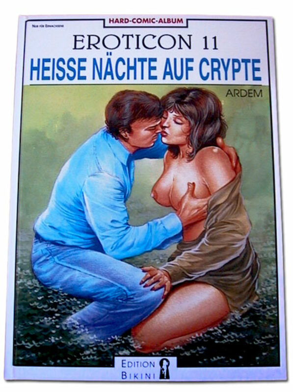 Eroticon 11 - Heisse Nächte auf Crypte Comic Bild
