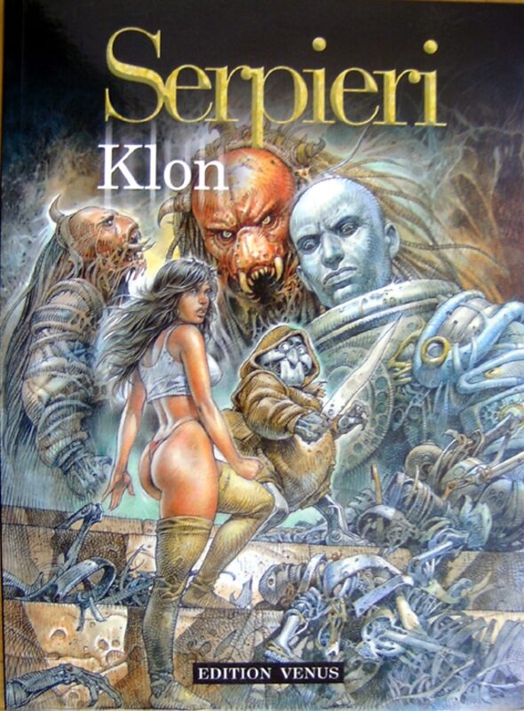 Serpieri klon Comic Bild
