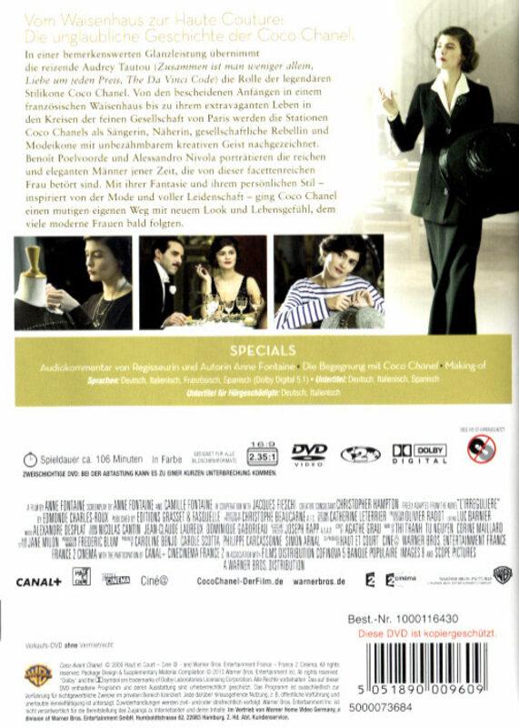 Coco Chanel - Der Beginn einer Leidenschaft Film ...