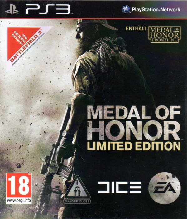 Medal of Honor - Limited Edition - Uncut AT PS3 Bild