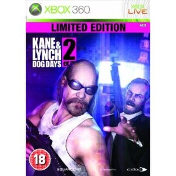 Kane and Lynch 2 - Dog Days - Limited Edition UK XBox 360 Bild