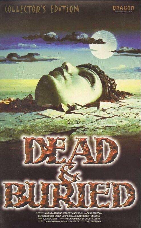 Dead & Buried - Collectors Edition VHS-Video Bild