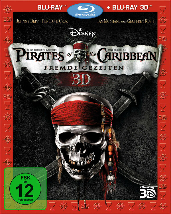 Pirates of the Caribbean 4 - Fremde Gezeiten Blu-ray Bild