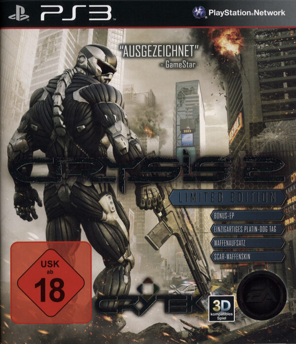 Crysis 2 - Limited Edition PS3 Bild