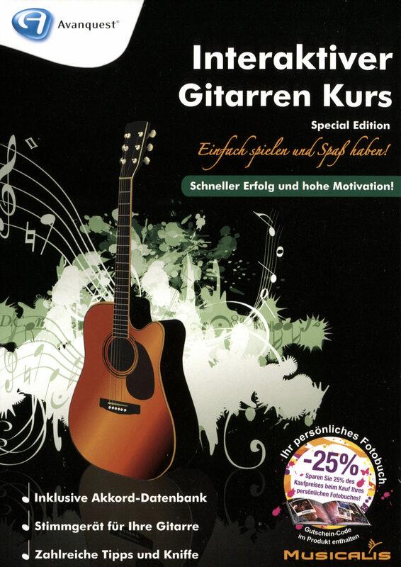 Interaktiver Gitarren Kurs - Special Edition PC Bild