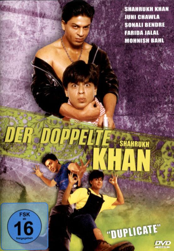 Der doppelte Shah Rukh Khan DVD Bild