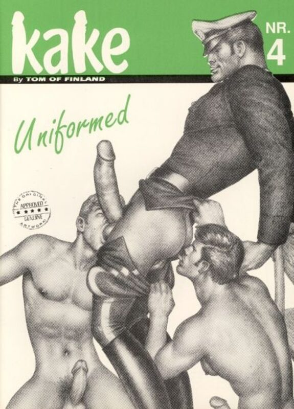 Tom of Finland - Kake Nr. 4 Gay Buch / Magazin Bild