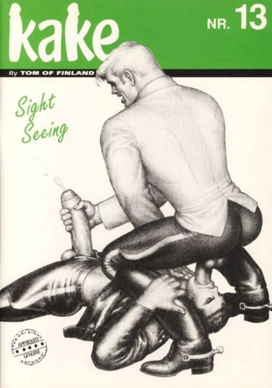Tom of Finland - Kake Nr. 13 Gay Buch / Magazin Bild