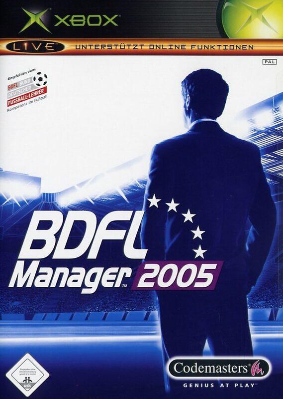 BDFL Manager 2005 XBox Bild
