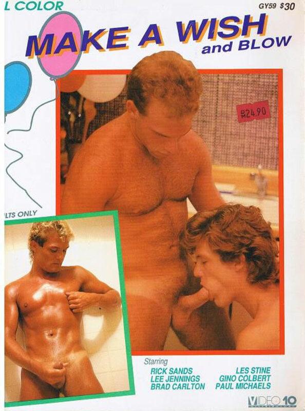 Make a wish and blow Gay Buch / Magazin Bild