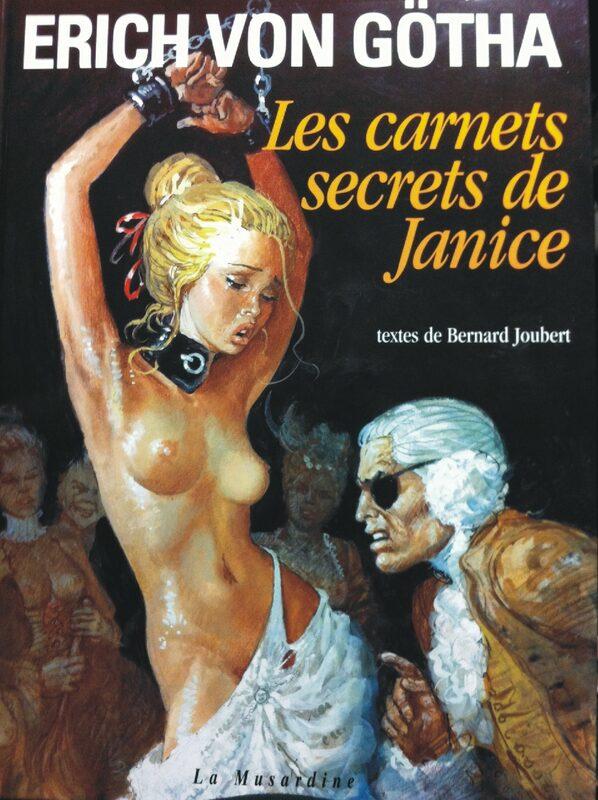 Erich von Götha - Les carnets secrets de Janice Comic Bild