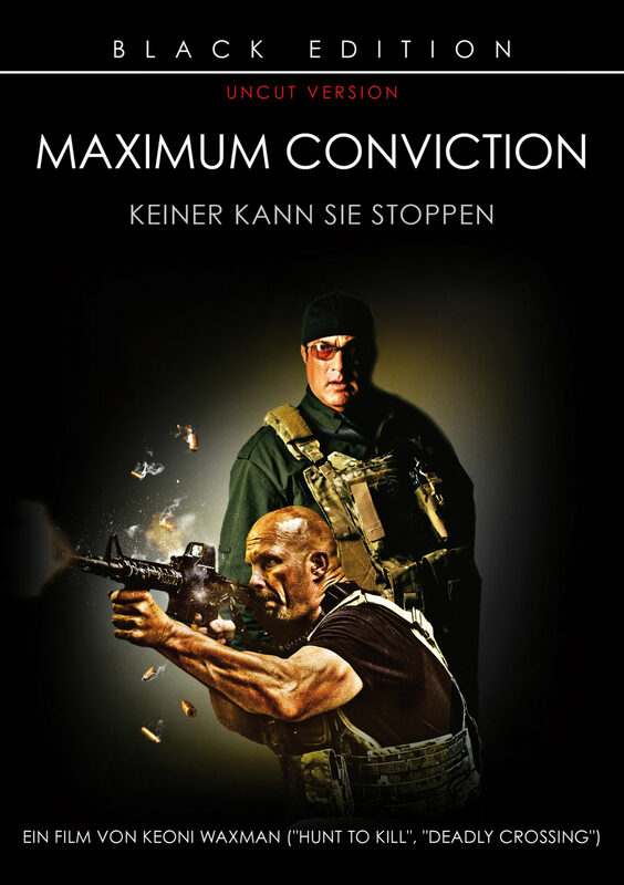 Maximum Conviction - Black Edition - Uncut DVD Bild