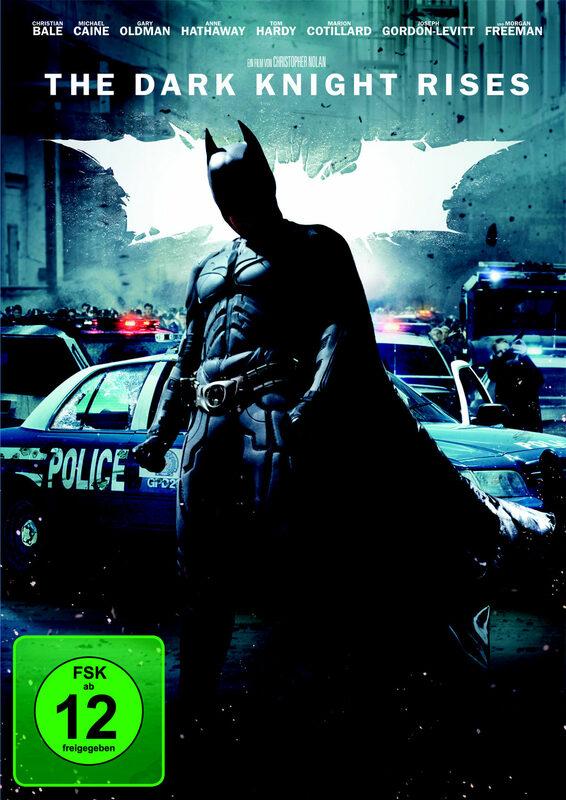 Batman - The Dark Knight Rises DVD Bild