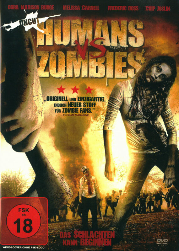Humans VS Zombies - Uncut DVD Bild