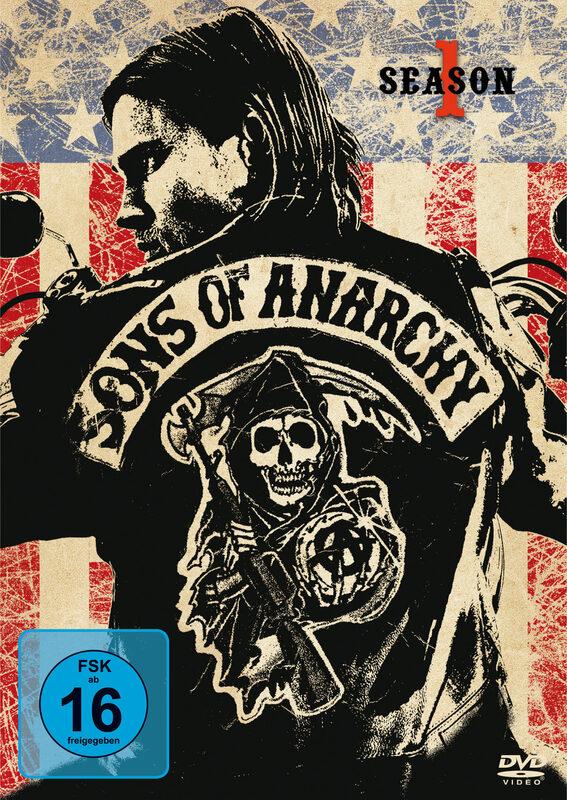 Sons of Anarchy - Season 1  [4 DVDs] DVD Bild