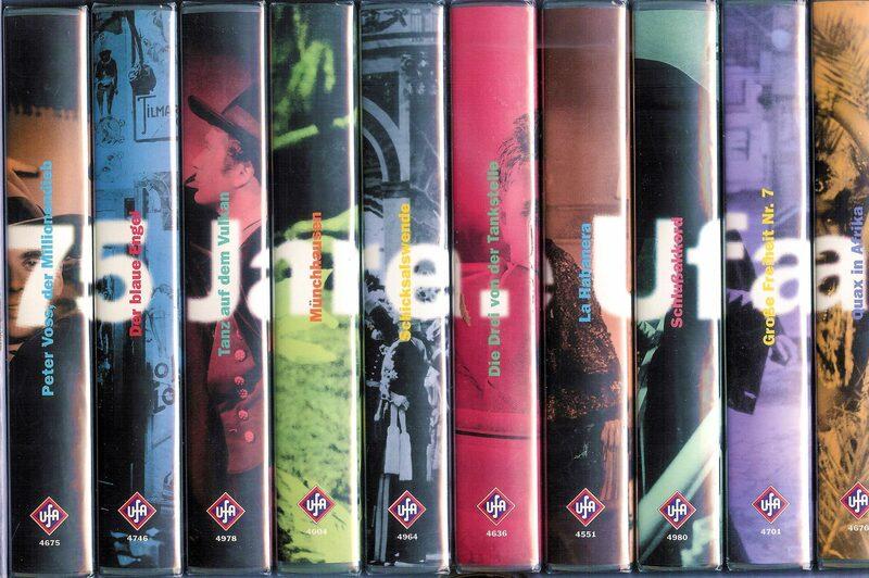 75 Jahre UFA Jubiläums Film Box VHS-Video Bild